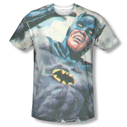 Batman TV Foliage Sublimation T-Shirt