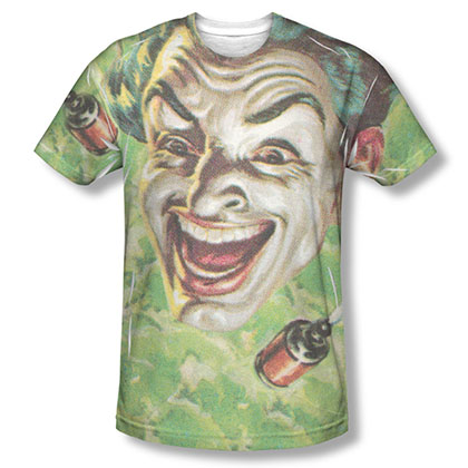 Batman TV Laugh Gas Sublimation T-Shirt