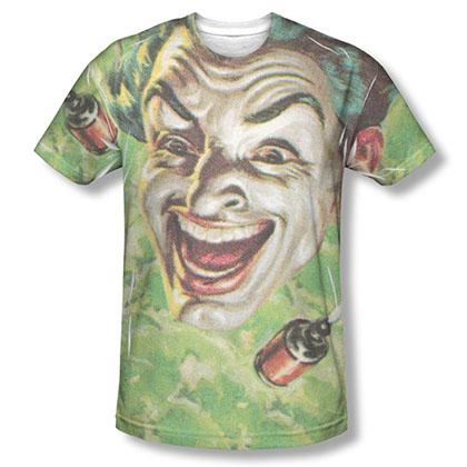 Batman TV Laugh Gas Sublimation T-Shirt