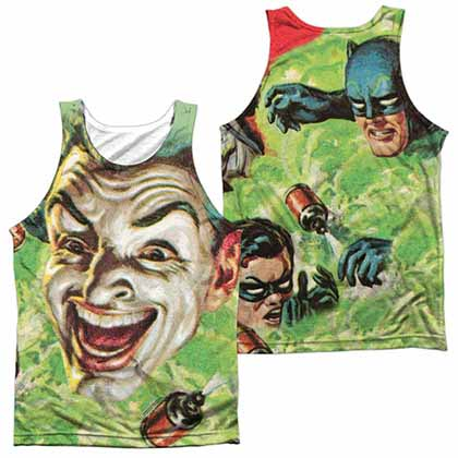 Batman Classic Tv Laugh Gas Sublimation Tank Top