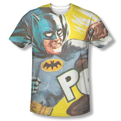 Batman TV On The Chin Sublimation T-Shirt
