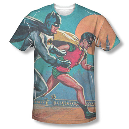 Batman TV Let's Go Sublimation T-Shirt