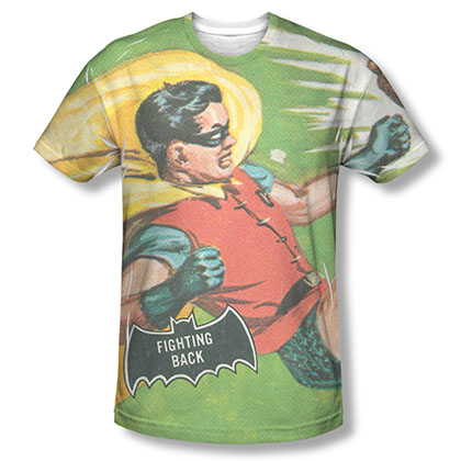 Batman TV Fighting Back Sublimation T-Shirt