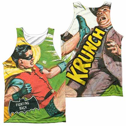 Batman Classic Tv Fighting Back Sublimation Tank Top