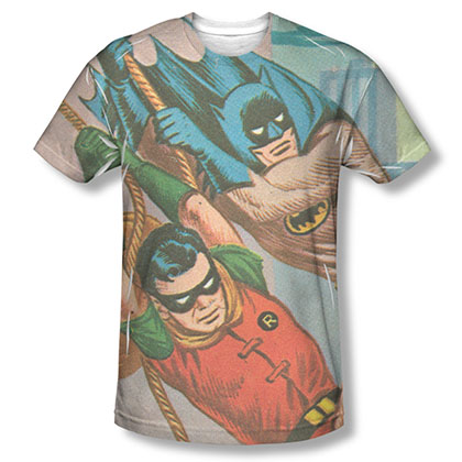 Batman TV Nightly Patrol Sublimation T-Shirt