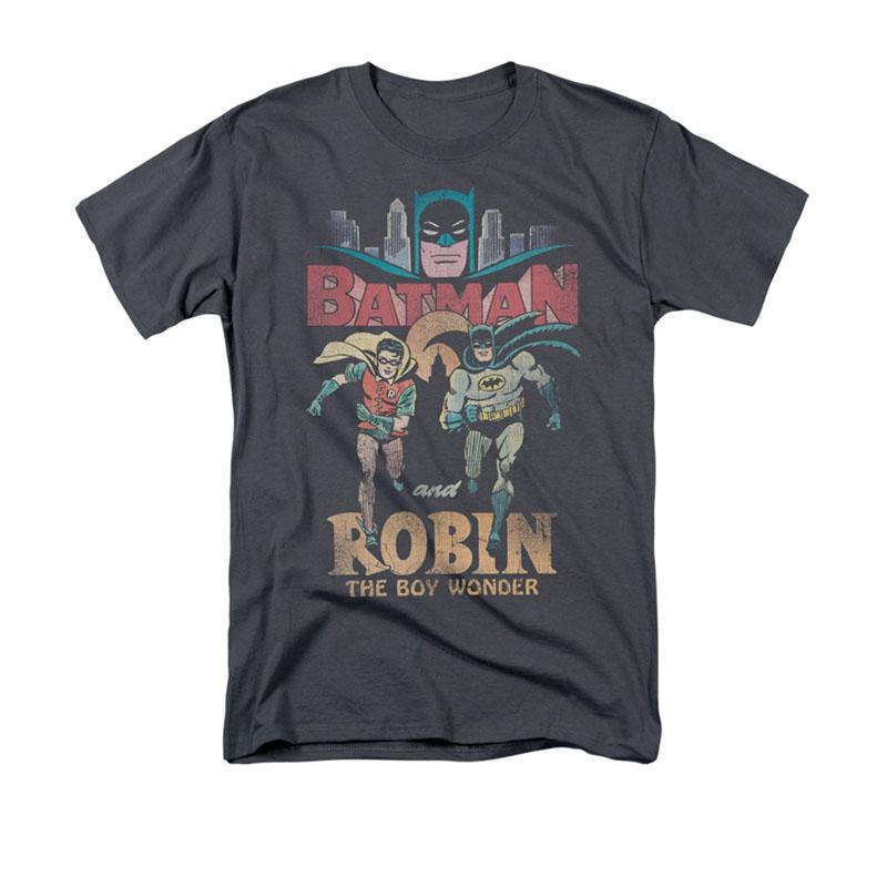 Batman Classic TV Robin Gray T-Shirt