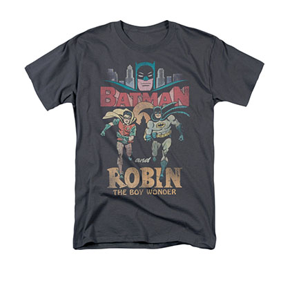 Batman Classic TV Robin Gray T-Shirt