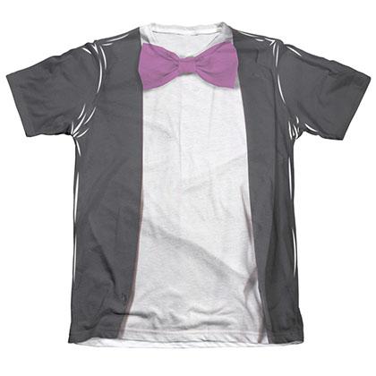Batman Men's Classic TV Penguin Sublimation Costume Tee Shirt