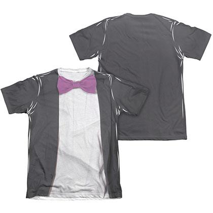 Batman Men's Classic TV Penguin Two-Sided Sublimation Costume Tee Shirt