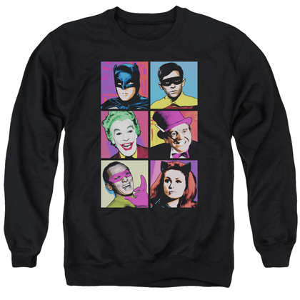 Batman Classic TV Lineup Crewneck Sweatshirt