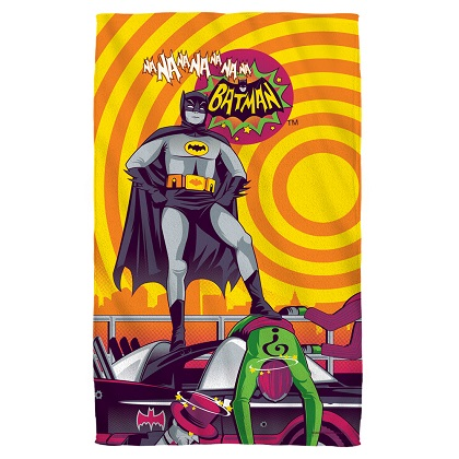 Batman Nananana Vintage Beach Towel