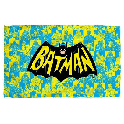 Batman Vintage Logo Beach Towel