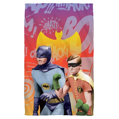 Batman and Robin Beach Towel