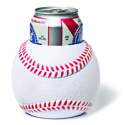 Baseball Beer Can Koozie