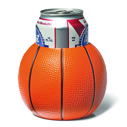 Basketball Foam Beer Koozie