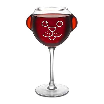 Ruff Day Wine Glass