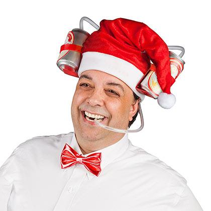 Santa Claus Guzzler Hat