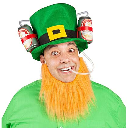 St. Paddy's Day Guzzler Hat