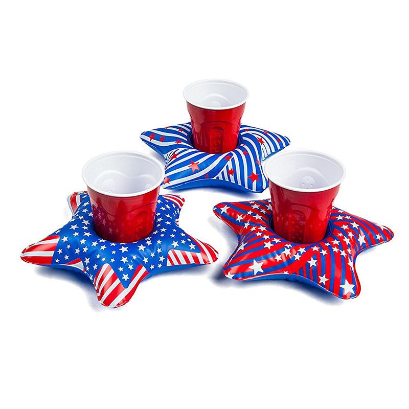 Patriotic Pool Beer Floats