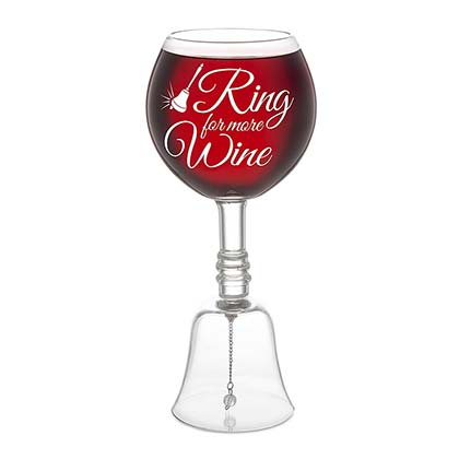 Ring For More Wine Glass