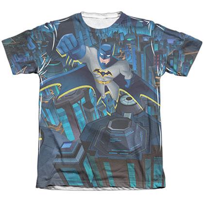 Batman Cityscape Sublimation T-Shirt