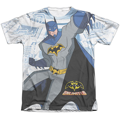 Batman Unlimited Tech Cave Sublimation T-Shirt