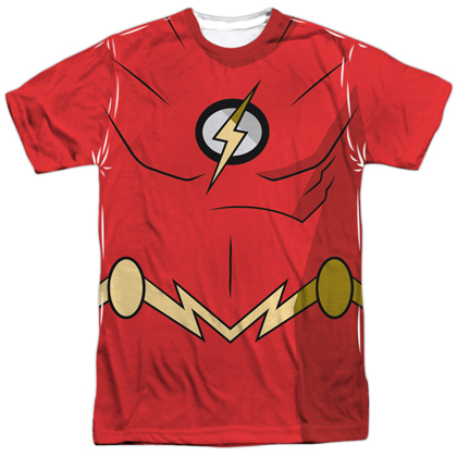 The Flash Batman Unlimited Costume Tee