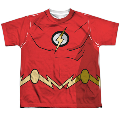 The Flash Batman Unlimited Youth Costume Tee