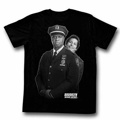 Brooklyn Nine Nine Howdy Black Tee Shirt
