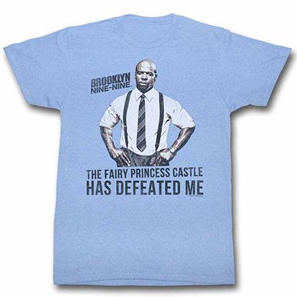 Brooklyn Nine Nine Defeat Blue Tee Shirt