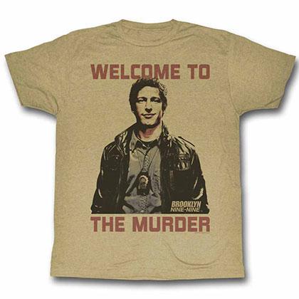 Brooklyn Nine Nine Welcome Beige Tee Shirt