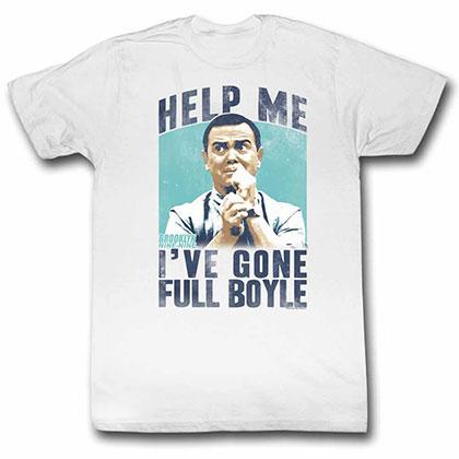 Brooklyn Nine Nine Full Boyle White TShirt
