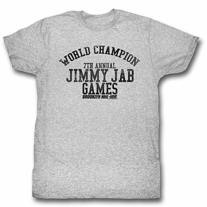 Brooklyn Nine Nine Jimmy Jab Gray Tee Shirt