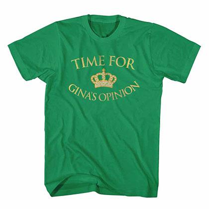 Brooklyn Nine Nine Gina's Opinion Green Tee Shirt