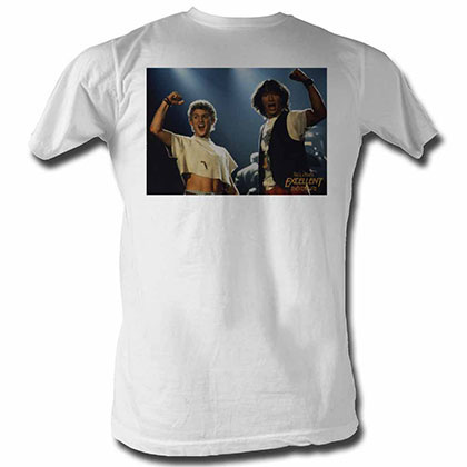 Bill And Ted Bnt White TShirt