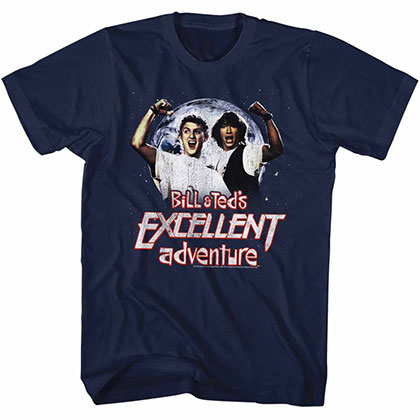 Bill And Ted Excellent Blue T-Shirt
