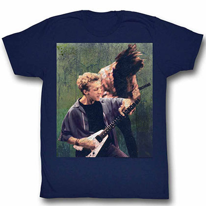 Bill And Ted Rocking Stallyns Blue Tee Shirt