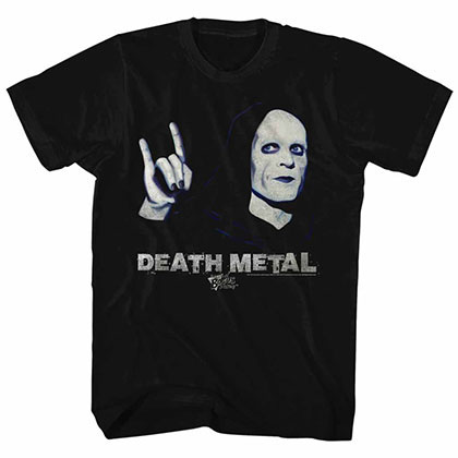 Bill And Ted Death Metal Black T-Shirt