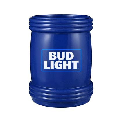 Bud Light Blue Magnet Can Cooler