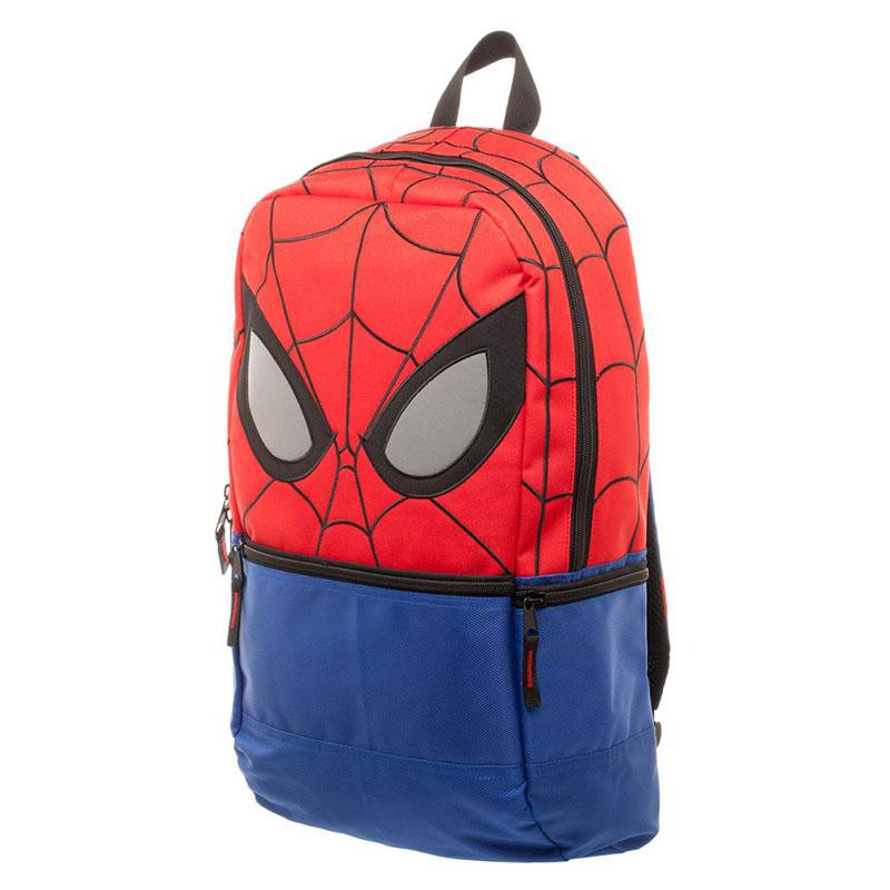 Spiderman Embroidered Mask Backpack