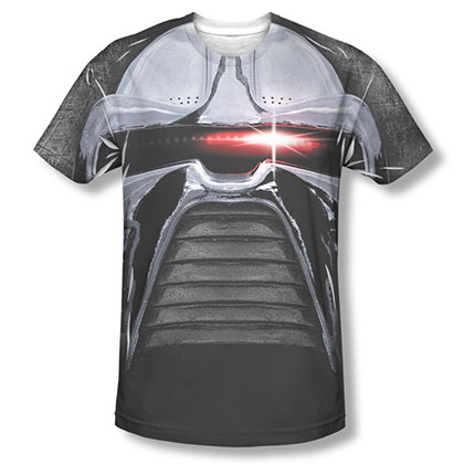 Battlestar Galactica Cylon Stare Sublimation T-Shirt