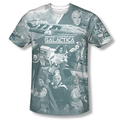 Battlestar Galactica Battle Has Begun Sublimation T-Shirt