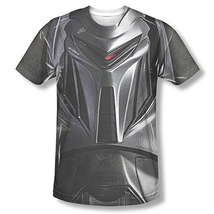 Battlestar Galactica Cylon Face Sublimation T-Shirt