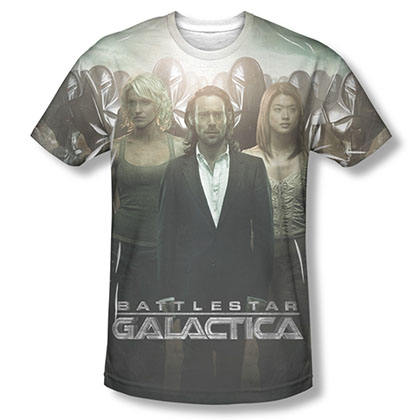 Battlestar Galactica Destiny Walk Sublimation T-Shirt