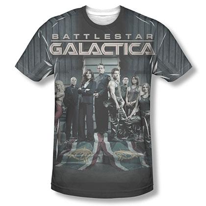 Battlestar Galactica Fallen Leader Sublimation T-Shirt