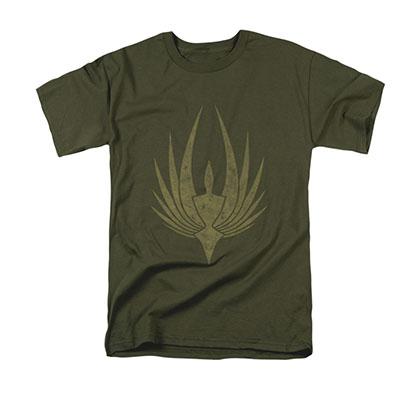 Battlestar Galactica Phoenix Green Tee Shirt