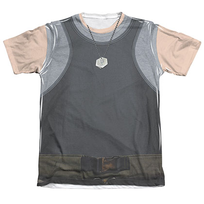 Battlestar Galactica Men's Sublimation Tank Top Costume Tee Shirt