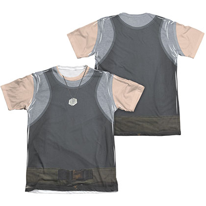 Battlestar Galactica Men's Two-Sided Sublimation Tank Top Costume Tee Shirt