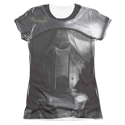 Battlestar Galactica Juniors Sublimation New Cylon Costume Tee Shirt