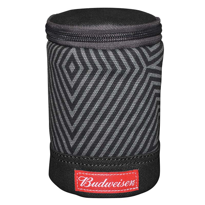 Budweiser Black Carabiner Can Cooler